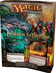 Magic the Gathering Card Game Phyrexia vs. The Coalition Duel Deck