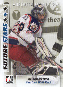 2007-08 Between The Pipes #3 Al Montoya