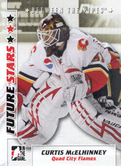 2007-08 Between The Pipes #10 Curtis McElhinney