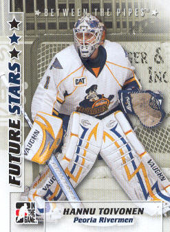2007-08 Between The Pipes #15 Hannu Toivonen