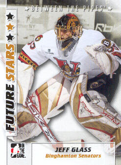 2007-08 Between The Pipes #18 Jeff Glass