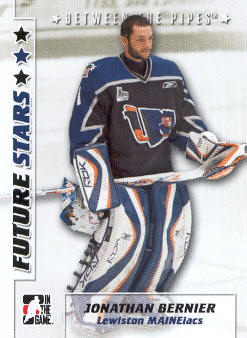 2007-08 Between The Pipes #23 Jonathan Bernier