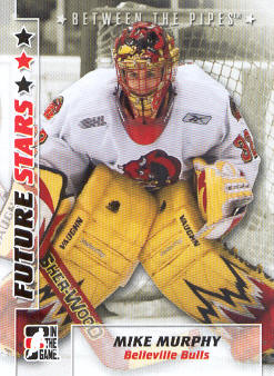 2007-08 Between The Pipes #40 Mike Murphy front image