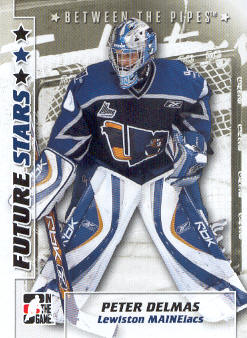2007-08 Between The Pipes #43 Peter Delmas