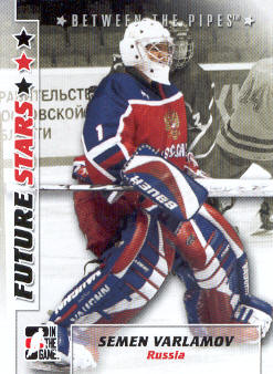 2007-08 Between The Pipes #48 Simeon Varlamov