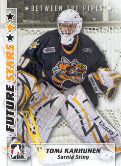 2007-08 Between The Pipes #55 Tomi Karhunen