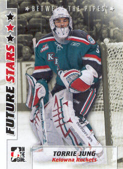 2007-08 Between The Pipes #56 Torrie Jung