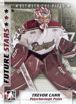 2007-08 Between The Pipes #57 Trevor Cann