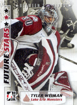 2007-08 Between The Pipes #59 Tyler Weiman