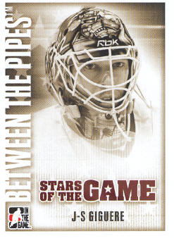 2007-08 Between The Pipes #64 Jean-Sebastian Giguere