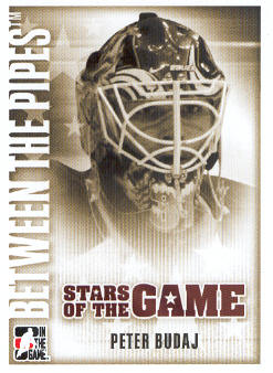 2007-08 Between The Pipes #70 Peter Budaj