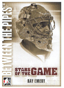 2007-08 Between The Pipes #71 Ray Emery