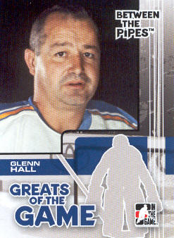 2007-08 Between The Pipes #78 Glenn Hall