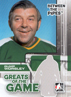 2007-08 Between The Pipes #80 Gump Worsley