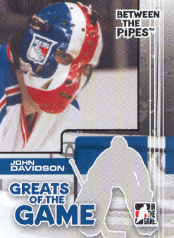 2007-08 Between The Pipes #81 John Davidson