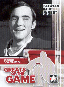 2007-08 Between The Pipes #85 Rogie Vachon