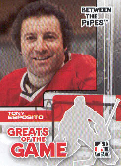 2007-08 Between The Pipes #89 Tony Esposito