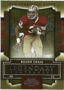2009 Playoff Contenders Legendary Contenders #73 Roger Craig
