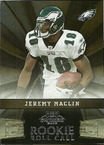 2009 Playoff Contenders Rookie Roll Call #3 Jeremy Maclin