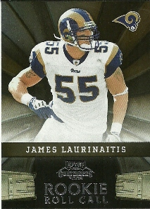 2009 Playoff Contenders Rookie Roll Call #25 James Laurinaitis