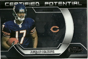 2009 Certified Certified Potential #33 Juaquin Iglesias
