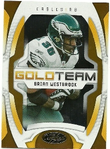 2009 Certified Gold Team #5 Brian Westbrook