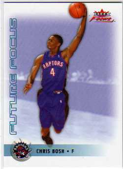 2003-04 Fleer Focus #125 Chris Bosh RC