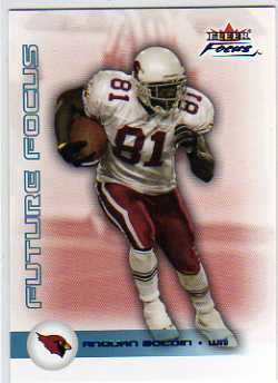 2003 Fleer Focus Numbers Decade #138 Anquan Boldin