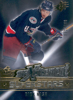 2005-06 SPx Xcitement Superstars #XSRN Rick Nash