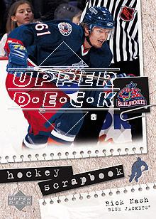 2005-06 Upper Deck Scrapbooks #HS10 Rick Nash