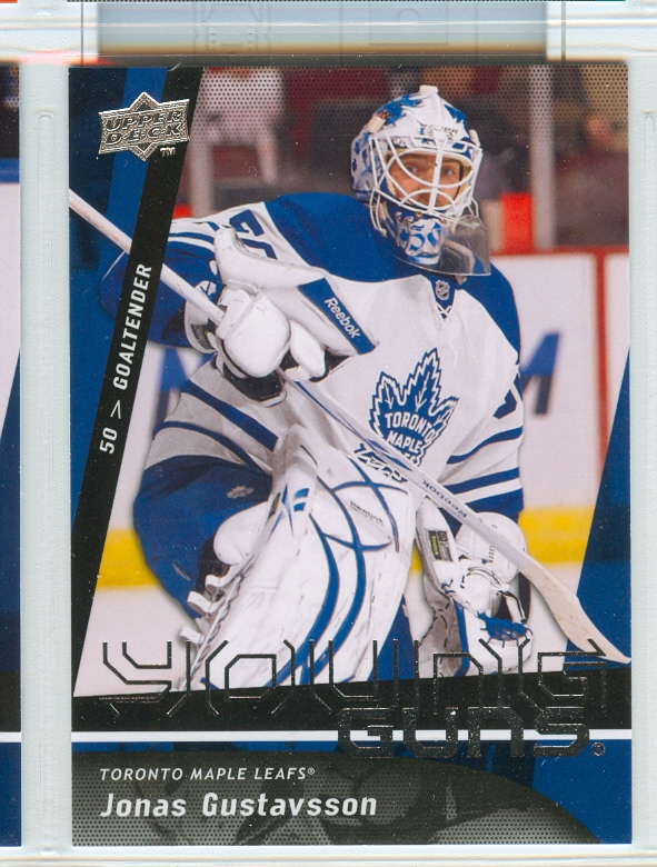 2009-10 Upper Deck #490 Jonas Gustavsson YG RC