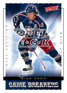 2005-06 Upper Deck Victory Game Breakers #GB13 Rick Nash