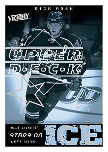 2005-06 Upper Deck Victory Stars on Ice #SI16 Rick Nash