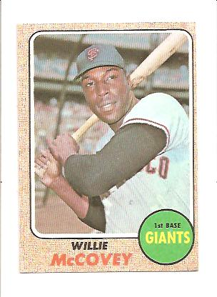 1968 Topps #290 Willie McCovey