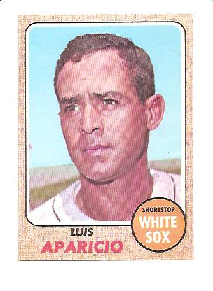 1968 Topps #310 Luis Aparicio