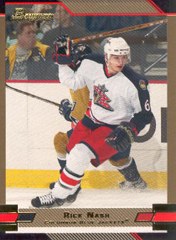 2003-04 Bowman Gold #1 Rick Nash