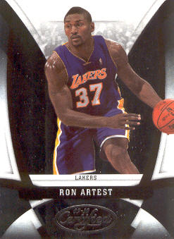 2009-10 Certified #68 Ron Artest