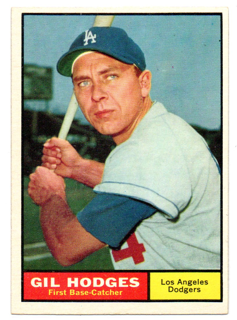 1961 Topps #460 Gil Hodges