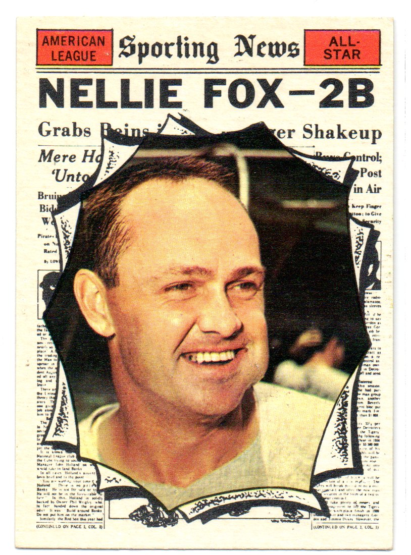 1961 Topps #570 Nellie Fox AS