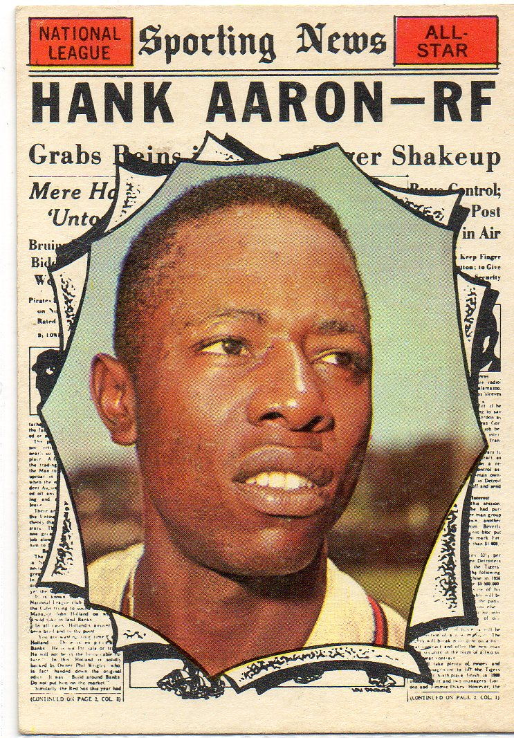 1961 Topps #577 Hank Aaron AS