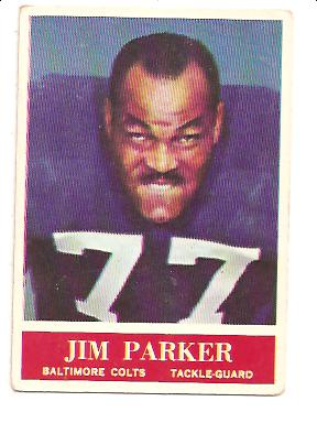 1964 Philadelphia #8 Jim Parker