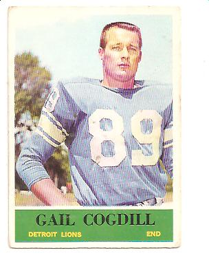 1964 Philadelphia #59 Gail Cogdill