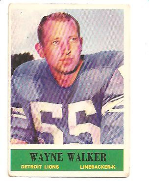 1964 Philadelphia #68 Wayne Walker RC