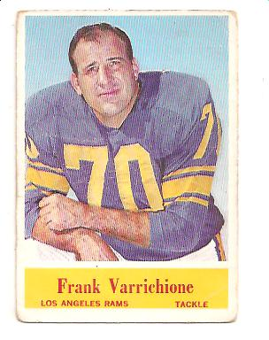 1964 Philadelphia #95 Frank Varrichione