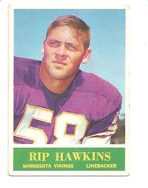 1964 Philadelphia #103 Rip Hawkins