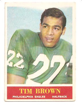 1964 Philadelphia #129 Timmy Brown