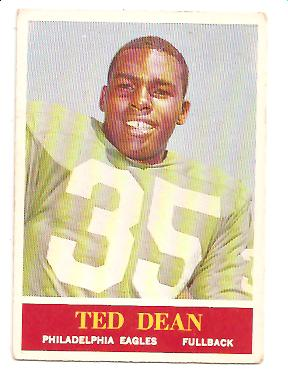 1964 Philadelphia #132 Ted Dean