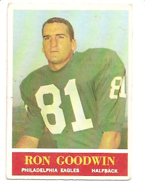 1964 Philadelphia #133 Ron Goodwin RC