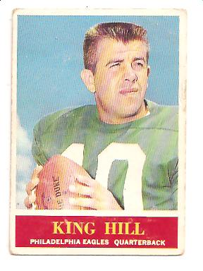 1964 Philadelphia #134 King Hill