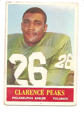 1964 Philadelphia #135 Clarence Peaks